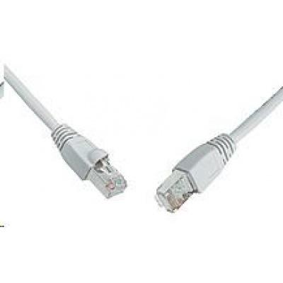 Solarix Patch kabel CAT5E SFTP PVC 20m šedý snag-proof C5E-315GY-20MB