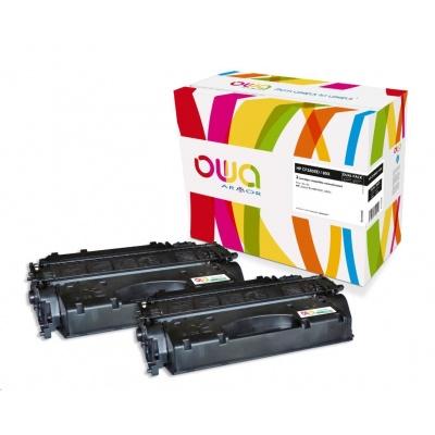 OWA Armor toner pre HP Color Laserjet pre 400 M401, M425, 2x6900 strán, CF280XD, čierna/black