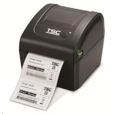 TSC DA320, 12 dots/mm (300 dpi), RTC, EPL, ZPL, ZPLII, TSPL-EZ, USB, RS232, Ethernet, Wi-Fi