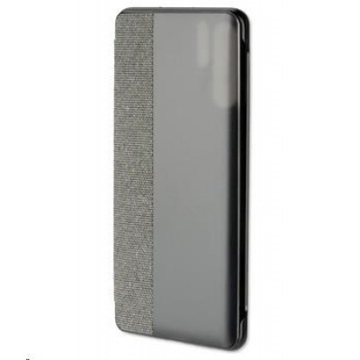 4smarts flipové pouzdro Smart Cover pro Huawei P30 Pro, šedá