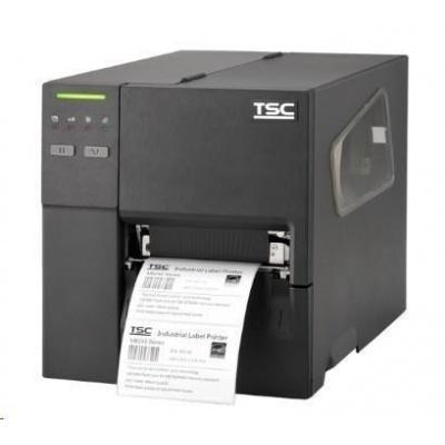 TSC MB340, 12 dots/mm (300 dpi), RTC, EPL, ZPL, ZPLII, DPL, USB, RS232, Ethernet, Wi-Fi