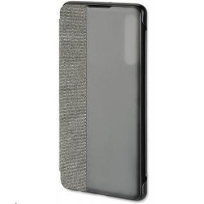 4smarts flipové pouzdro Smart Cover pro Huawei P30, šedá