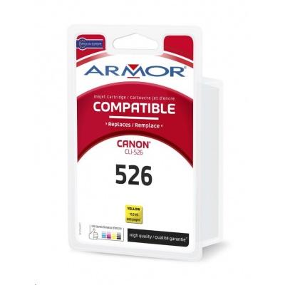 ARMOR ink-jet pre CANON Pixma IP4850, MG5150, MG5250, MG6150, MG8150 , 665 strán, CLi526Y, žltá/yellow (CLI-526Y)