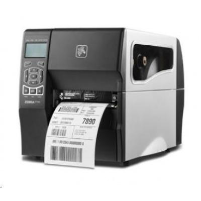 ZEBRA ZT230t priemyselná tlačiareň, 300dpi, RS-232, USB, LAN, ZPL, TT