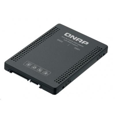 """QNAP QDA-A2MAR diskový adaptér 2x M.2 SATA do 2,5"""" SATA"""