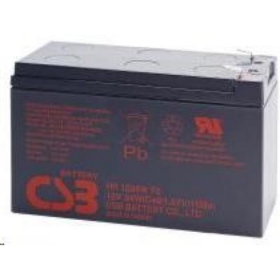 CSB 12V 9Ah olověný akumulátor HighRate F2 (HR1234WF2)