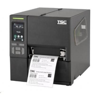 TSC MB340T, 12 dots/mm (300 dpi), disp., RTC, EPL, ZPL, ZPLII, DPL, USB, RS232, Ethernet, Wi-Fi