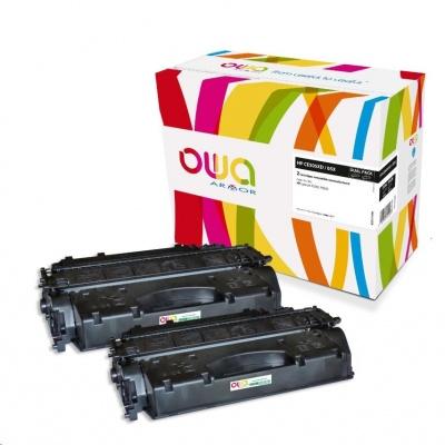 OWA Armor toner pro HP LJ P2050, P2055, 2x6500 stran, CC505XD, černá/black