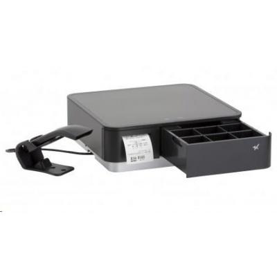 Star mPOP, USB, BT (iOS), incl.: barcode reader, black