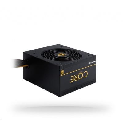 CHIEFTEC zdroj Core Series BBS-500S, 500W, PFC, 12cm fan, 80+ Gold